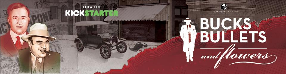 Bucks, Bullets & Flowers su Kickstarter